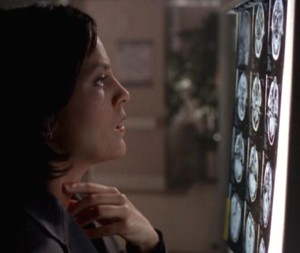 """Umm,"" Special Agent Monica Reyes groaned in frustration..."