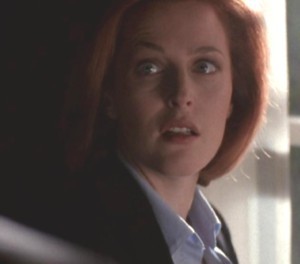"""I saw him,"" Scully said again, this time trying to hide her inner turmoil."