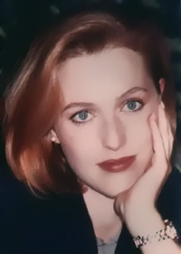 """""""So you met Agent Doggett that fall,"""" Scully clarified..."""