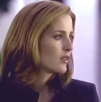 And Scully watched her, for as long as she could, as she sprinted away, sprinted away, sprinted away...