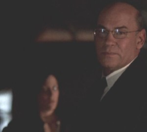 'You'd better come with us,' Skinner said to Scully, sadness in his eyes.