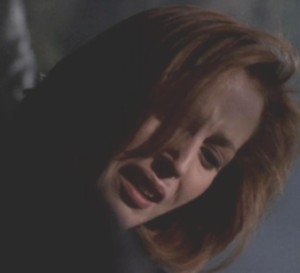 'Nooo,' Scully sobbed. 'No, no, no, God, no, no, no...