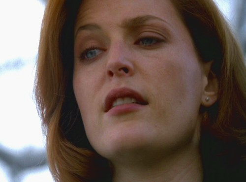 After a few moments, Scully finally began to speak.